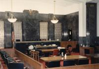 Courtroom No. 6, the ceremonial courtroom, at the McCormick Post Office & Courthouse in Boston - 1997