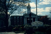 Image of city hall, seat of local government